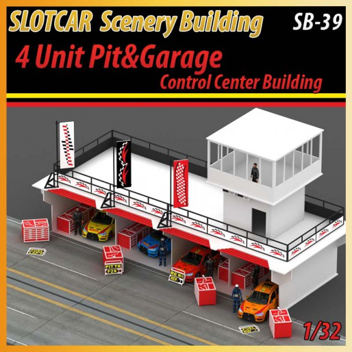 MHS Model SB-39 4 Unit Pit - Garage & Control Center Building