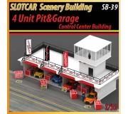 MHS Model SB-39 4 Unit Pit - Garage & Control Center Building