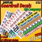 "MHS Model GA-1 Guardrail Decals ""Oil Company"""