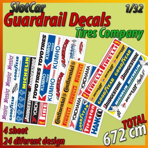 MHS Model GA-2 Guardrail Decals
