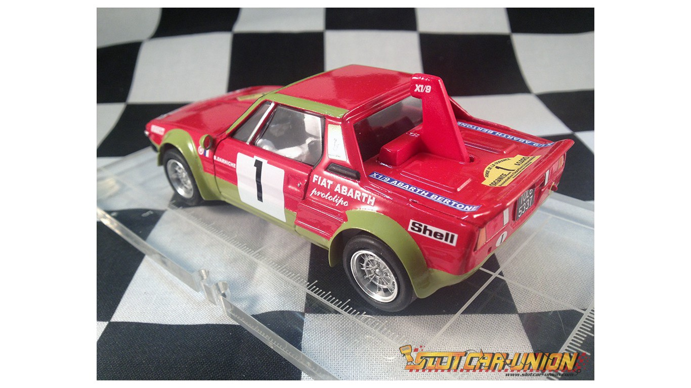 Proto Slot Kit Cb105 Fiat Abarth X1 9 Rallye De La Durance 1975 N 1