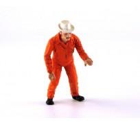 LE MANS miniatures Figure Mecano Gulf, Paul