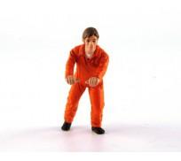 LE MANS miniatures Figurine Mecano Gulf, Jacques