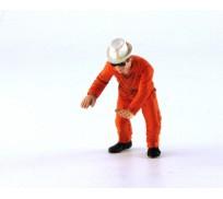 LE MANS miniatures Figure Mecano Gulf, Philippe