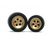 Slot.it PA35 Wheel inserts for hubs Ø14,3mm and Ø15,8mm Ferrari 312 PB type (x2+2)