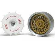 Slot.it PA55 Wheel inserts for hubs Ø15,8mm and Ø16,5mm BBS 80's Porsche 956/962 type (x4+2)