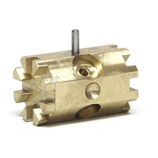 Slot.it SP28 Barillet multifonction en laiton, bouchon en acier et vis M3 pour SP21