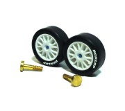 Scalextric W8418 FRONT HUBS/AXLES OPEL V8  COUPE