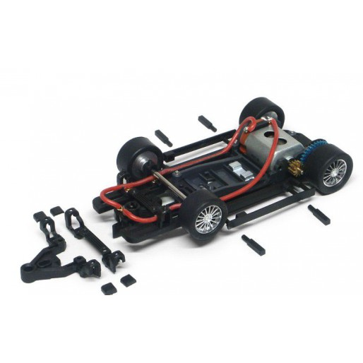 Slot.it CH31b Ready to Run HRS2 Sidewinder Chassis 0,5mm Offset