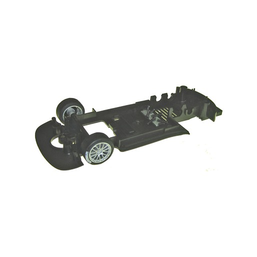 Scalextric W10106 UNDERPAN FRONT WHEEL ASSY C3196
