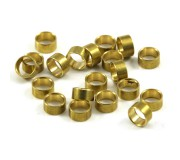 "Scaleauto SC-1120b Axle spacers for 3/32"" brass 1.5mm."