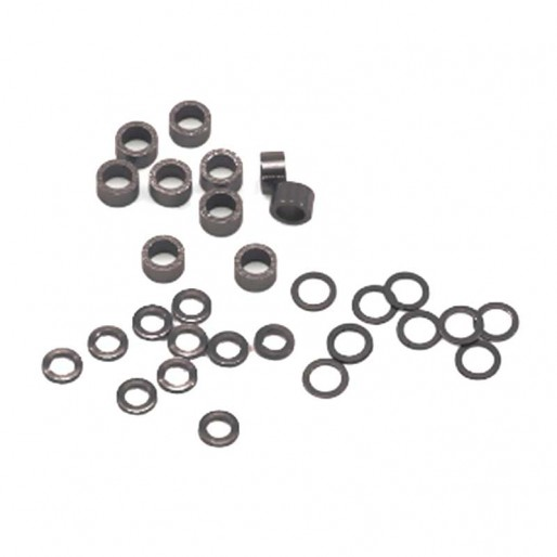 "Scaleauto SC-1121 Axle spacers for 3/32"" plastic (Set of diferent sizes)"