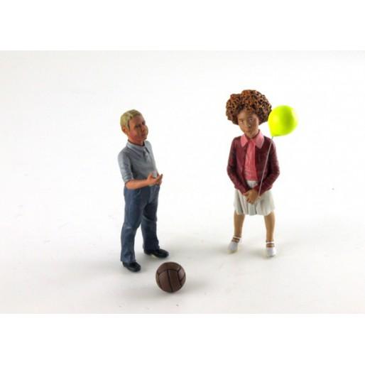 LE MANS miniatures Figurine 1/18 Tessa & Nils