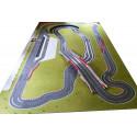 Slot Track Scenics WL-R1 White line for outside R1 curves x10