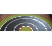 Slot Track Scenics WL-R1 Ligne Blanche pour courbes R1 extérieures x4