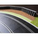 Slot Track Scenics WL-R1 Ligne blanche pour courbes R1 extérieures x10