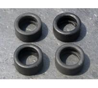 LE MANS miniatures Set of 4 rear tires Rondeau