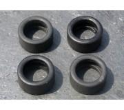 LE MANS miniatures 4 pneus arrière type Rondeau