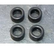 LE MANS miniatures Set of 4 front tires Rondeau