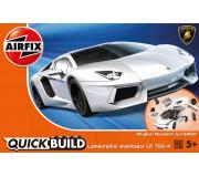 Airfix QUICK BUILD Lamborghini Aventador Blanc