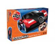 Airfix QUICK BUILD Bugatti Veyron Black & Red