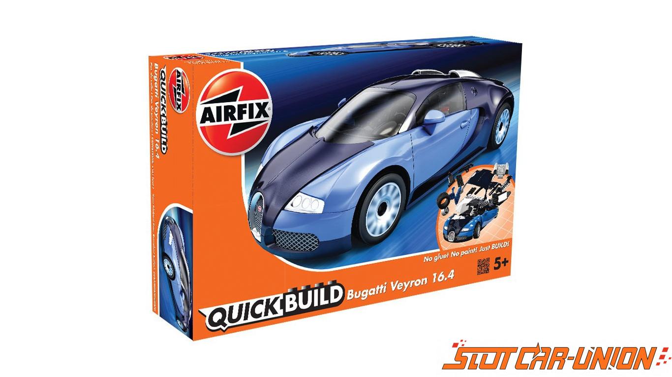 airfix quick build bugatti veyron slot car union. Black Bedroom Furniture Sets. Home Design Ideas