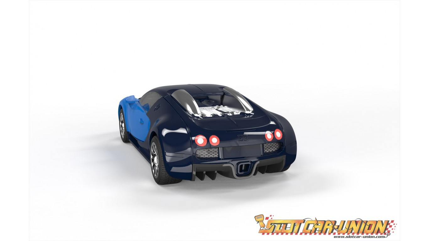 airfix quick build bugatti veyron slot car union. Black Bedroom Furniture Sets. Home Design Ideas