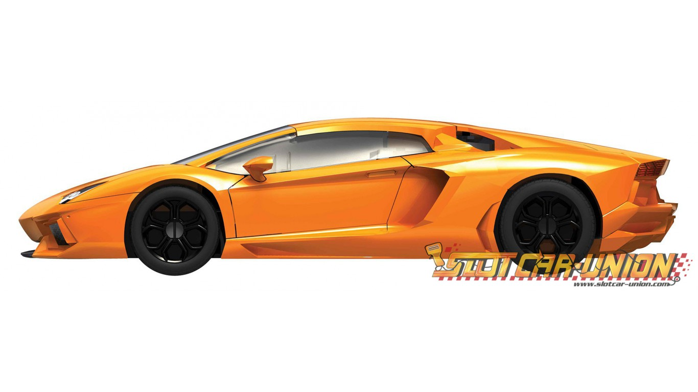 airfix quick build lamborghini aventador - slot car-union