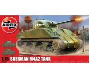 Airfix Sherman M4A2 Tank 1:76