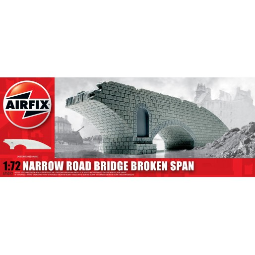 Airfix Narrow Road Bridge Broken Span 1:72