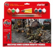 Airfix WWII German Infantry Multipose Coffret de Départ 1:32