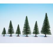 NOCH 32920 Model Fir Trees, 10 pieces, 3.5 - 9 cm high