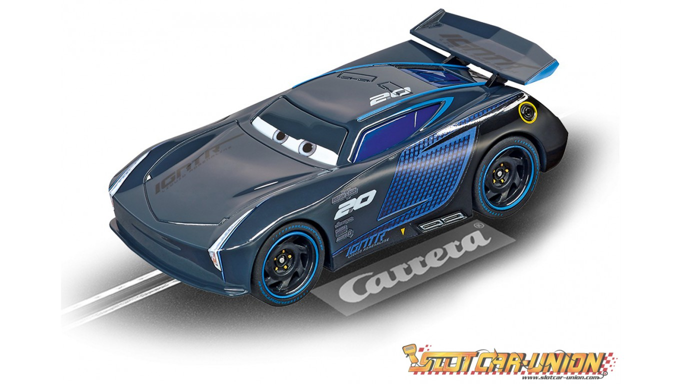 carrera go 64084 disney pixar cars 3 jackson storm slot car union. Black Bedroom Furniture Sets. Home Design Ideas