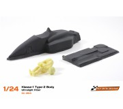 Scaleauto SC-3913 Light fiber composite F1 type 2 unpainted.