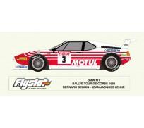 Flyslot 051106 BMW M1 Rallye Tour de Corse 1983