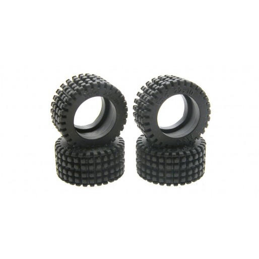 Scaleauto SC-4750 Raid Standard Rubber tyres for Profile hubs.