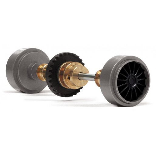 Slot.it KK08 Kit Inline Z27 crown + 15,8x8,2mm Plastic Small wheels