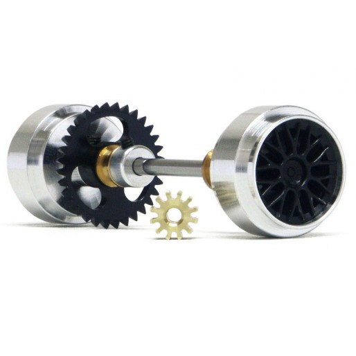 Slot.it KK09b Kit Anglewinder Z32 crown + Z12 pinion + 17,3x9,75mm Large wheels