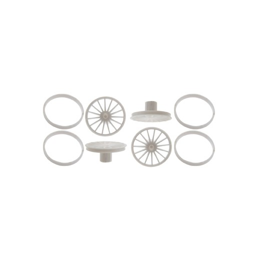 Scaleauto SC-7609 Wheel inserts modern Speedline 15 spokes. Diameter 16/17mm.  (MSC-5203)