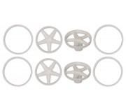 Scaleauto SC-7619 Wheel inserts classic 5 spokes Diameter 17-19mm