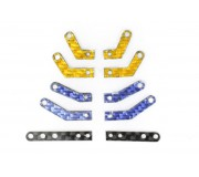 Scaleauto SC-6525a RT3 Motor Mount multi-chassis adapter arms. For SW-IL-AW motor mounts. Carbon fiber