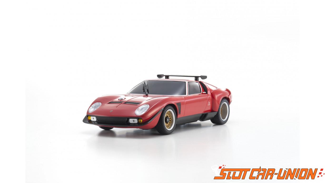 Kyosho Miniz Mr03 Sports 2 Lamborghini Jota Svr Rouge N Rm Kt19 Slot Car Union