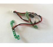 Scalextric W10492 PCB LIGHTS FRT REAR ESCORT MK11