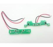 Scalextric W9556 PCB LIGHTS PAIR C2814