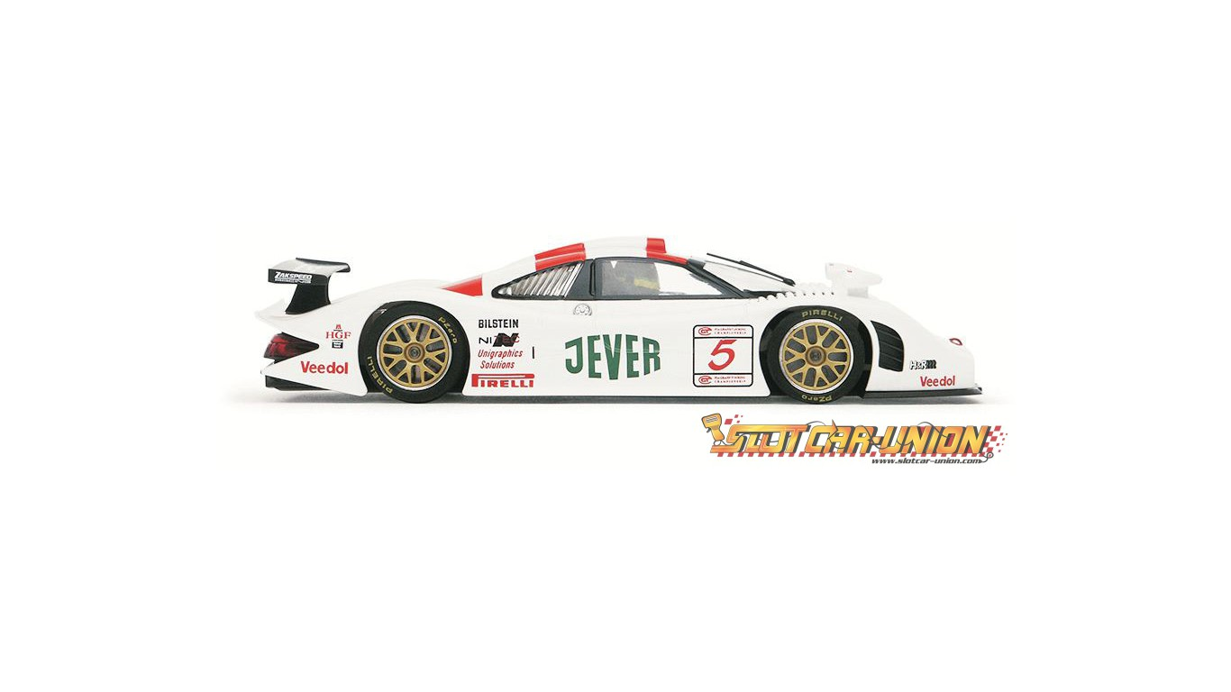 ca23a porsche 911 gt1 evo 98 n 5 fia gt oschersleben 1998 slot car union. Black Bedroom Furniture Sets. Home Design Ideas