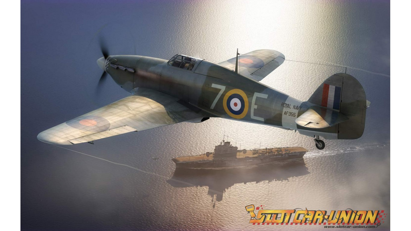 Airfix Hawker Sea Hurricane Mkib 148 Slot Car Union
