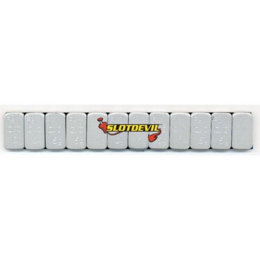 Slotdevil 07990050 Adhesive weights 5 gr x12