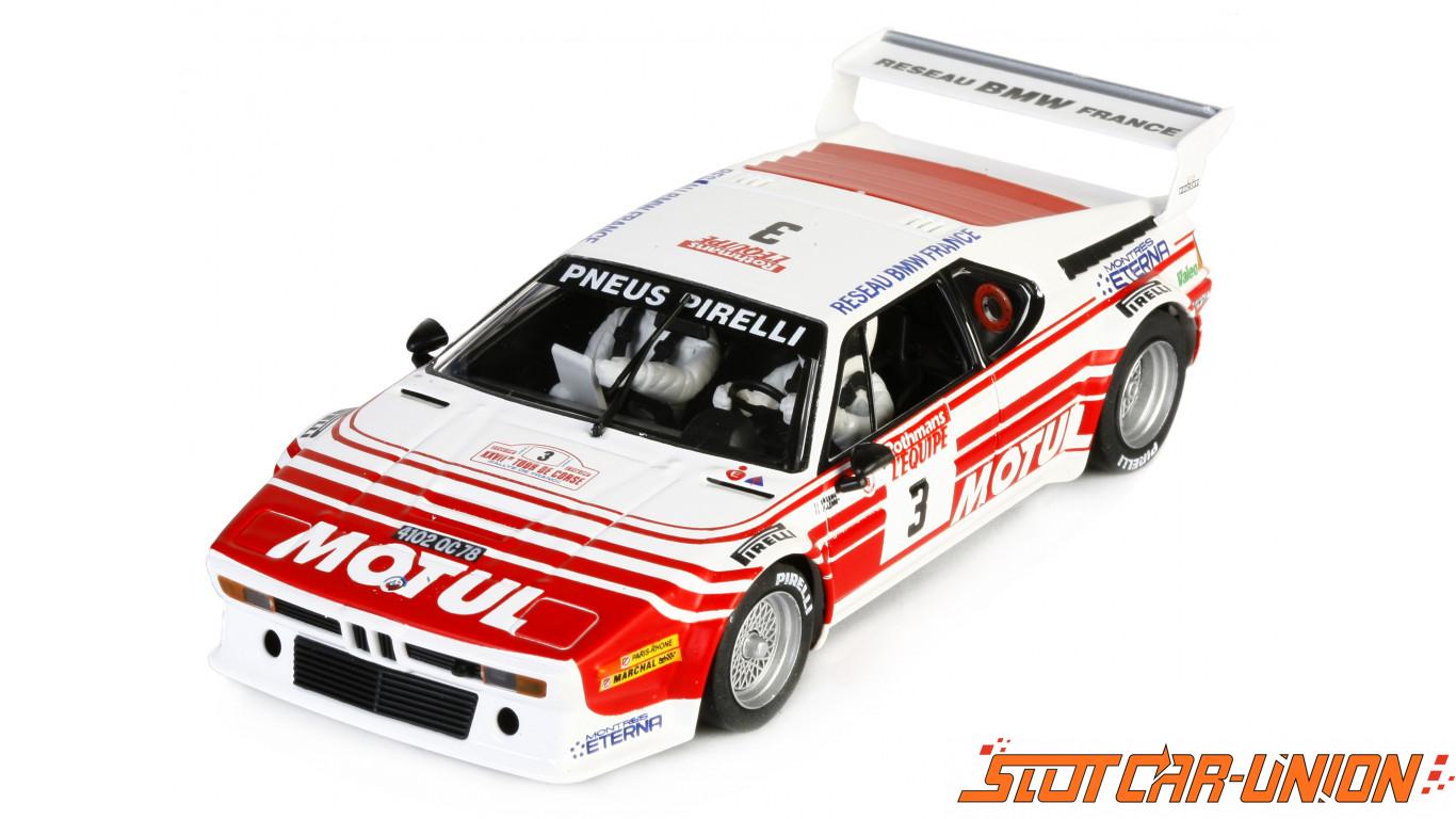 flyslot 051107 bmw m1 rallye tour de corse 1983 slot car union. Black Bedroom Furniture Sets. Home Design Ideas