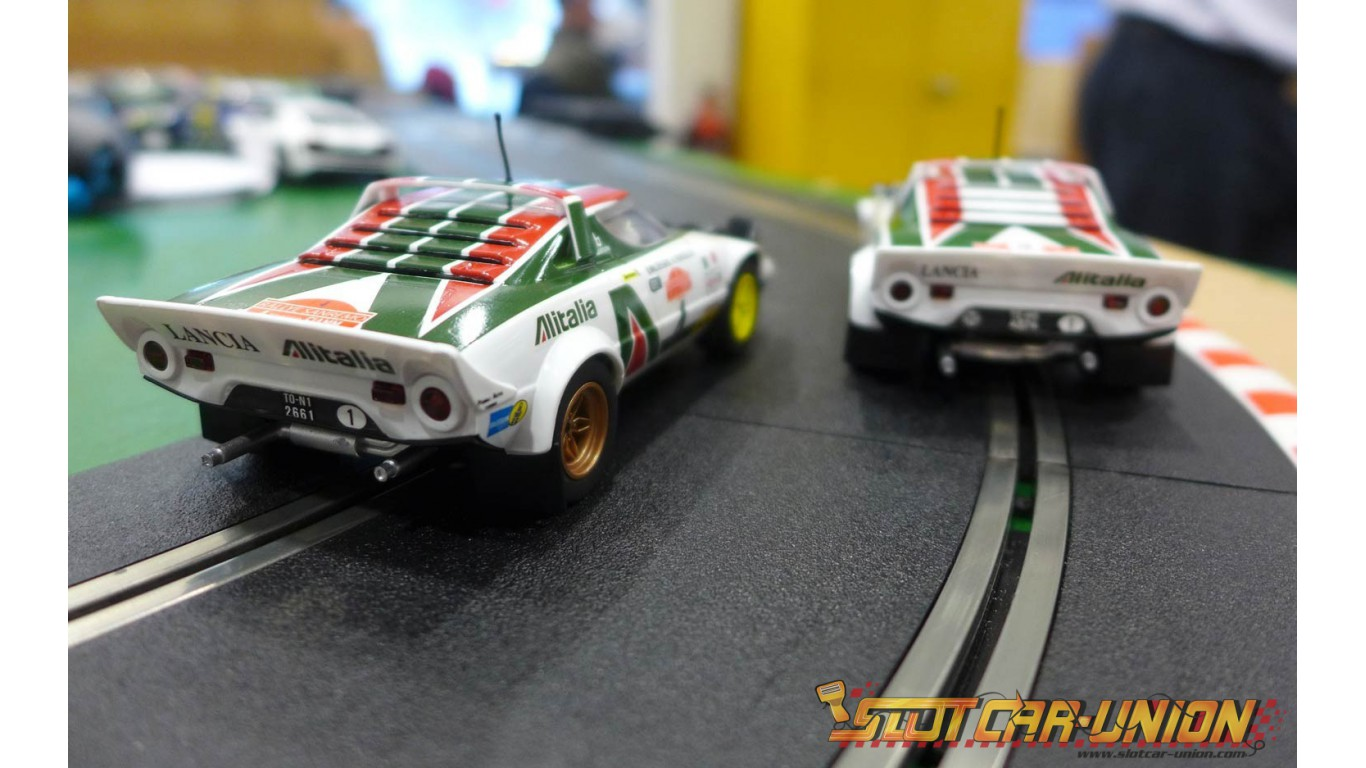 scalextric c3894a legends lancia stratos 1976 rally champions