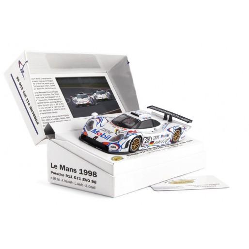 Slot.it CW13 Porsche 911 GT1 EVO 98 n. 26 1st Le Mans 1998